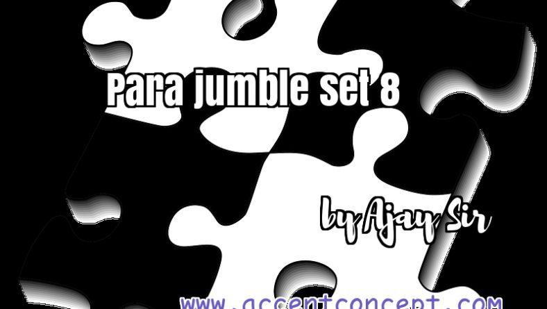 Para Jumble set 8 by Ajay Sir Accent Concept