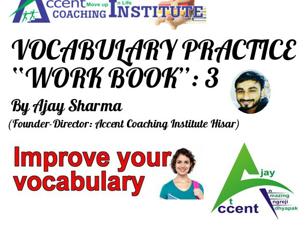 English Vocabulary Book 3 by Ajay Sir