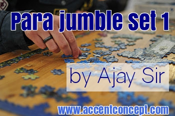 Para Jumble 1 by Ajay Sir Accent Concept