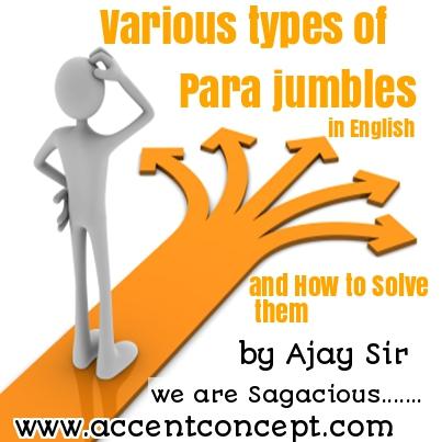 Various Types of Parajumbles by Ajay Sir