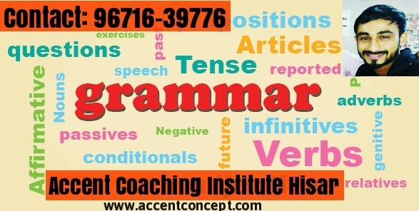 English Grammar Coaching in Hisar