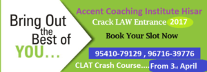 CLAT-Coaching-in Hisar
