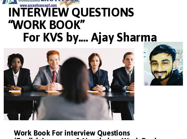 KVS Interview Tips ( Interview Question for TGT/PRT & PGT  2017)