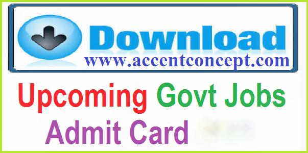 Admit Card 2018-2019
